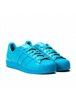 Adidas Superstar Голубые