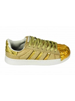 Adidas Superstar Золотые