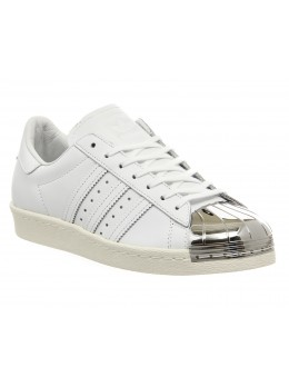 Adidas Superstar Белые Metal Toe