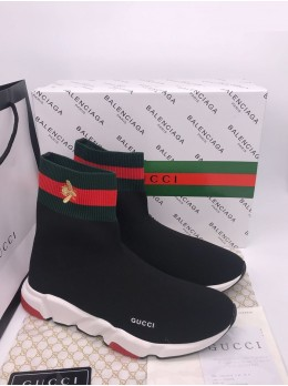 Кроссовки Balenciaga  Speed Trainer x GUCCI Арт.21102