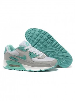 Nike Air Max 90 Серо-бирюзовые