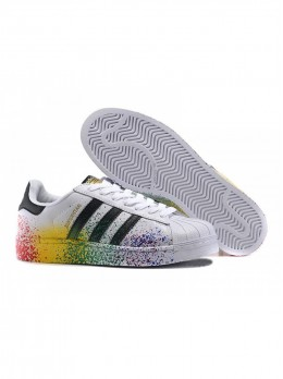 Adidas Superstar Paint белые
