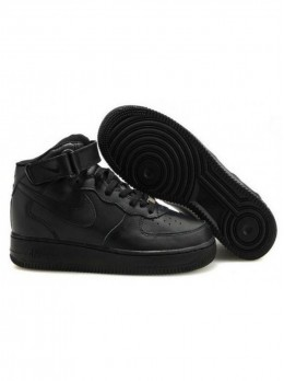 Nike Air Force 1 Черные