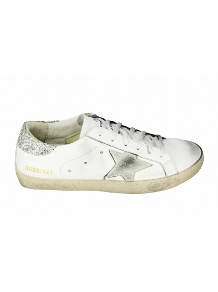 Кеды Golden Goose Silver