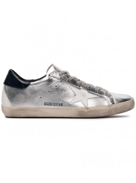 Кеды Golden Goose Silver superstar