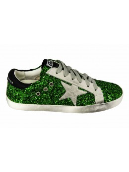 Кеды Golden Goose Green Light