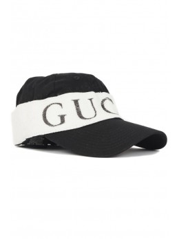 Мужская бейсболка Gucci - Black / White