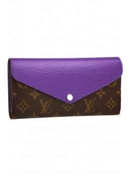 Женский кошелек Louis Vuitton Marie-Lou Long Wallet Turquoise *