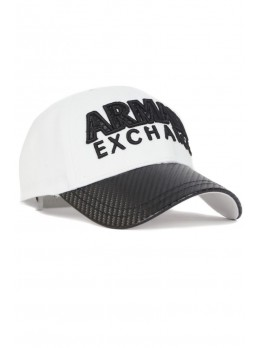 Мужская бейсболка Armani Exchange - Black / White