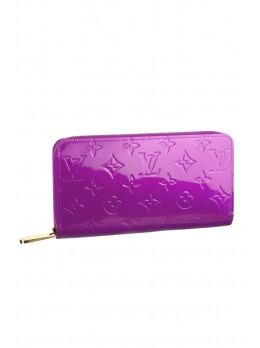 Яркий кошелек Louis Vuitton Zippy Wallet Amethyste*