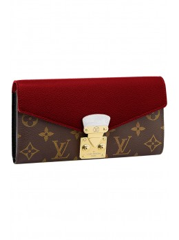 Женский кошелек Louis Vuitton Pallas Wallet Noir*
