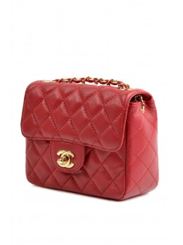 Сумочка Chanel Classic Flap Red Gold 20