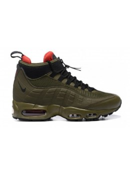 Nike Air Max 95 Sneakerboot  зеленые