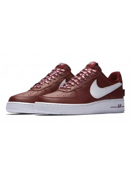 Nike Air Force 1 Бордовые