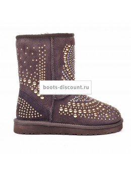 UGG Jimmy Choo Mandah Chocolate