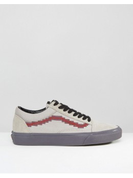 Кеды Vans Men's Beige With Pixel Print